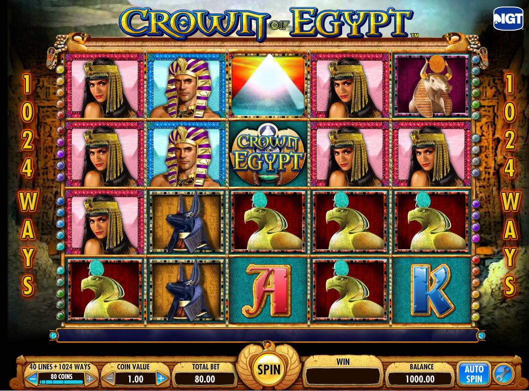 Crown of Egypt Online Slots