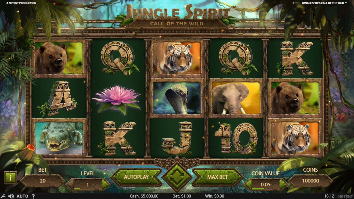 Jungle Spirit Online Slot