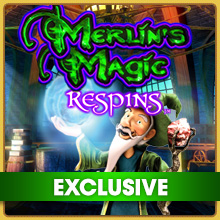 Merlin's Magic Respins Online Slot Game