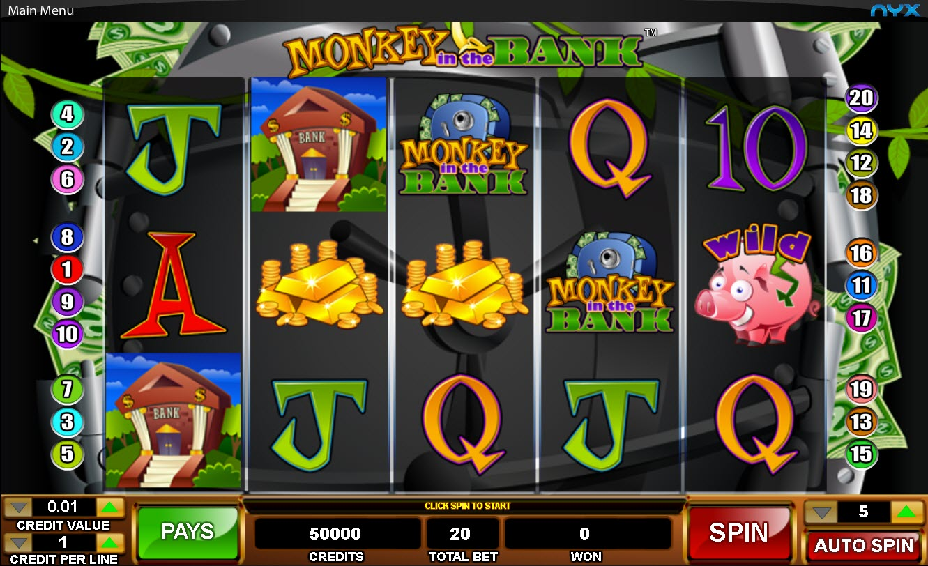 Monkey in the Bag Online Slot