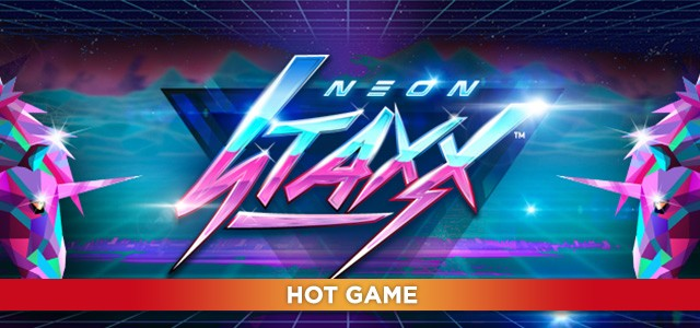 Play Neon Staxx Slots at Casino.com New Zealand